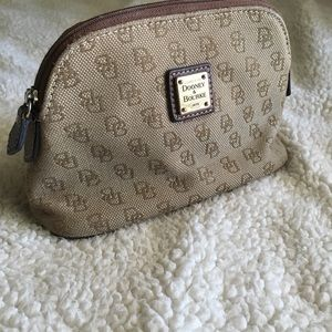 Dooney & Bourke makeup bag